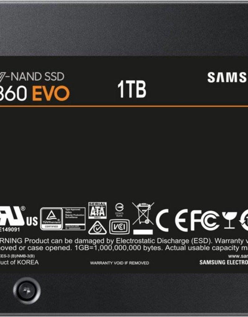 Samsung SSD  860 EVO series 1TB( 550MB/s Read 520MB/s )