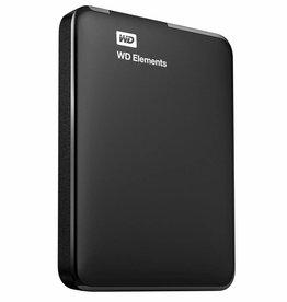 Western Digital WD Elements Portable 2.5 Inch externe HDD 500GB, Zwart