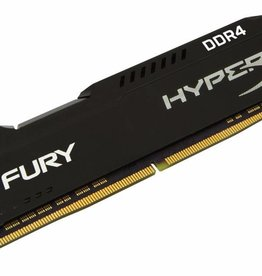 Kingston HyperX FURY Memory Black 4GB DDR4 2400MHz 4GB DDR4 2400MHz geheugenmodule
