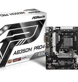 Asrock MB ASRock AB350M Pro4 / AMD B350 / AM4 / / 4x DDR4 Micro ATX