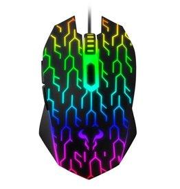 Riotoro Uruz Z5 RGB Opt. 4000 DPI Gaming Mouse Multicolor
