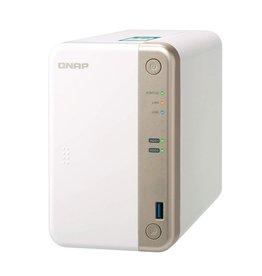 Qnap QNAP TS-251B Ethernet LAN Toren Wit NAS