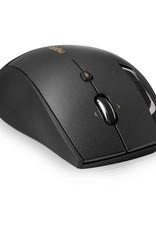 5GHz 800 - 1600 dpi laser mouse - 4D scroll - grey