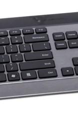 5GHz Utra-slim Keyboard + 1600 dpi laser mouse - black