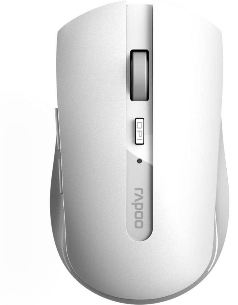 2,4GHz Multi-Mode Silent Mouse White