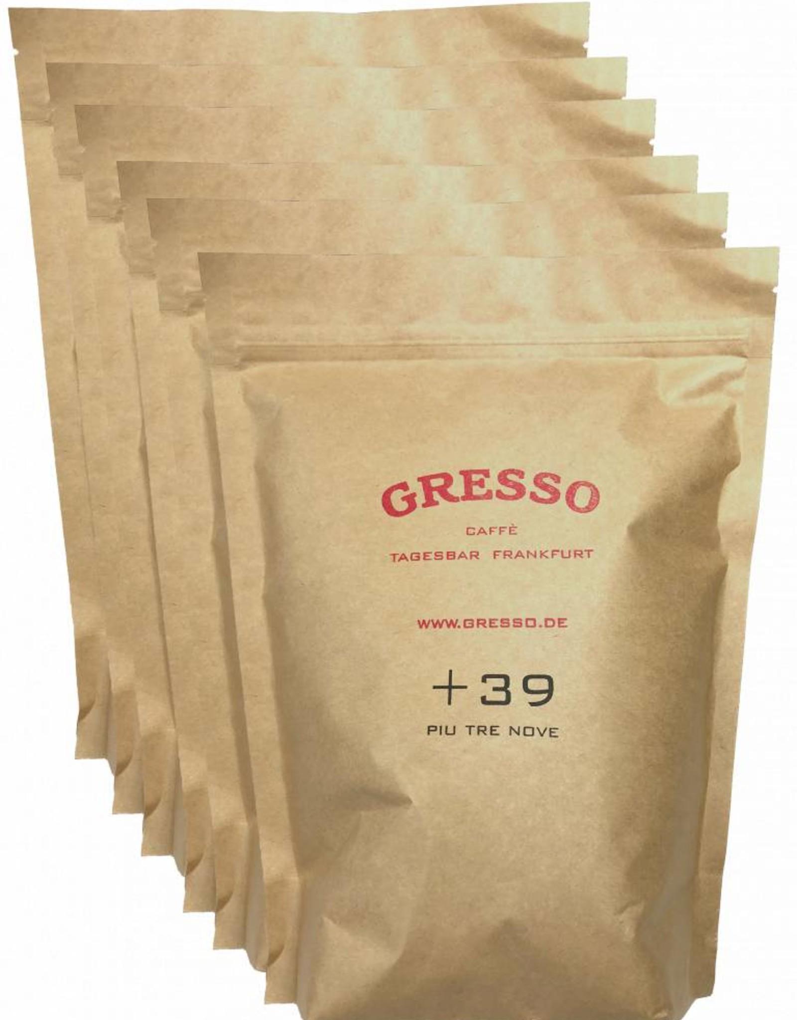 GRESSO Caffè +39 100 % Arabica, 100% Colombia