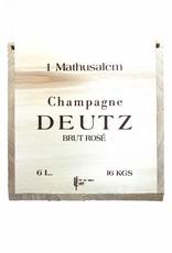 Deutz Brut Rosé Mathusalem 6l in Holzkiste