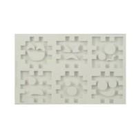thumb-Alphabeth Moulds 3D cube set AM0137-1