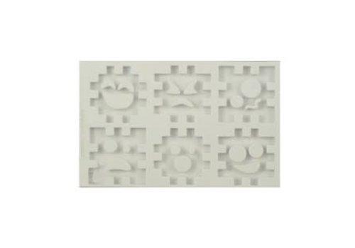 Alphabeth Moulds 3D cube set AM0137