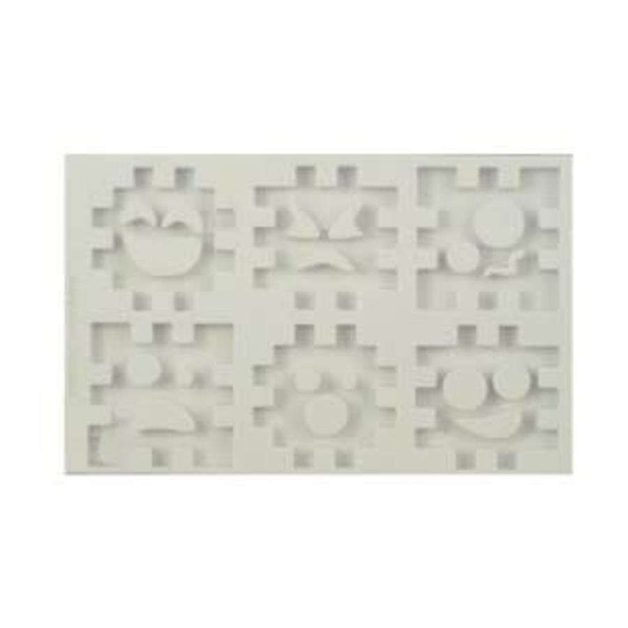 Alphabeth Moulds 3D cube set AM0137-1
