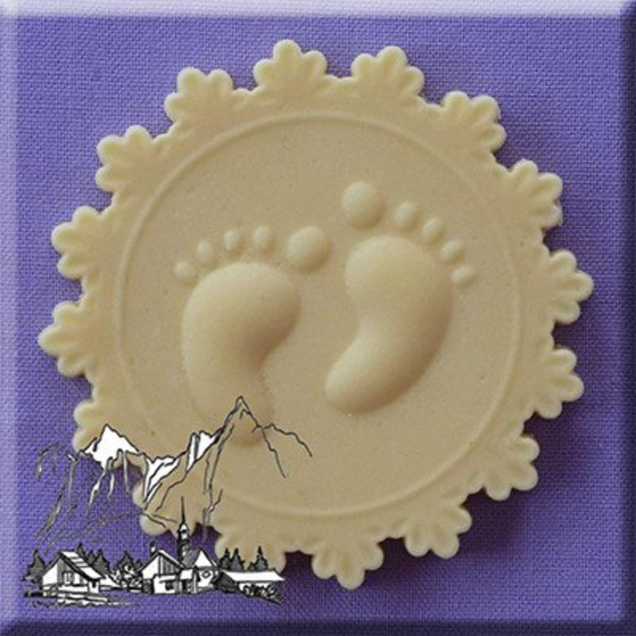 baby feet voetjes cupcake topper AM0113-1