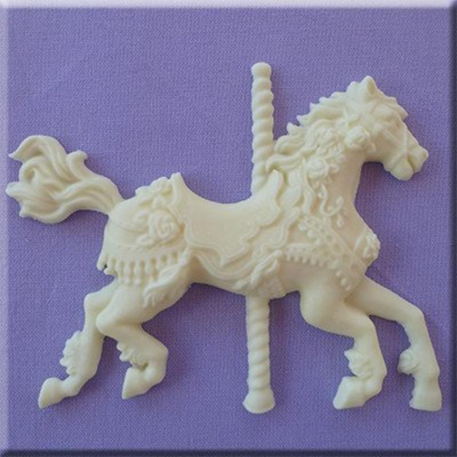 carousel horse/draaimolen paard AM0200-1