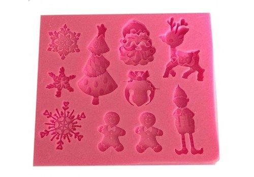 Kerst thema mal koekjes