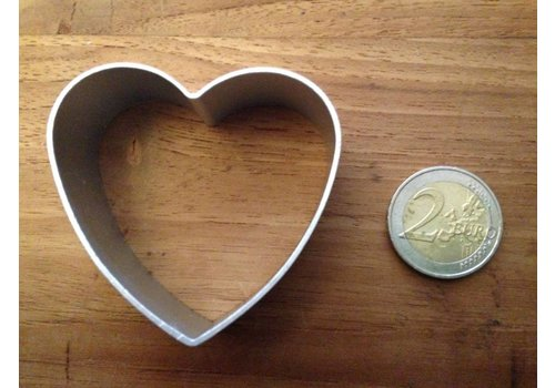 Hart koekjesvorm aluminium
