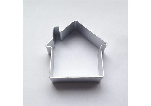 Huis koekjesvorm aluminium