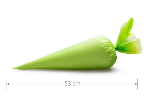 One way wegwerp spuitzak comfort green L 10st - 53X28CM