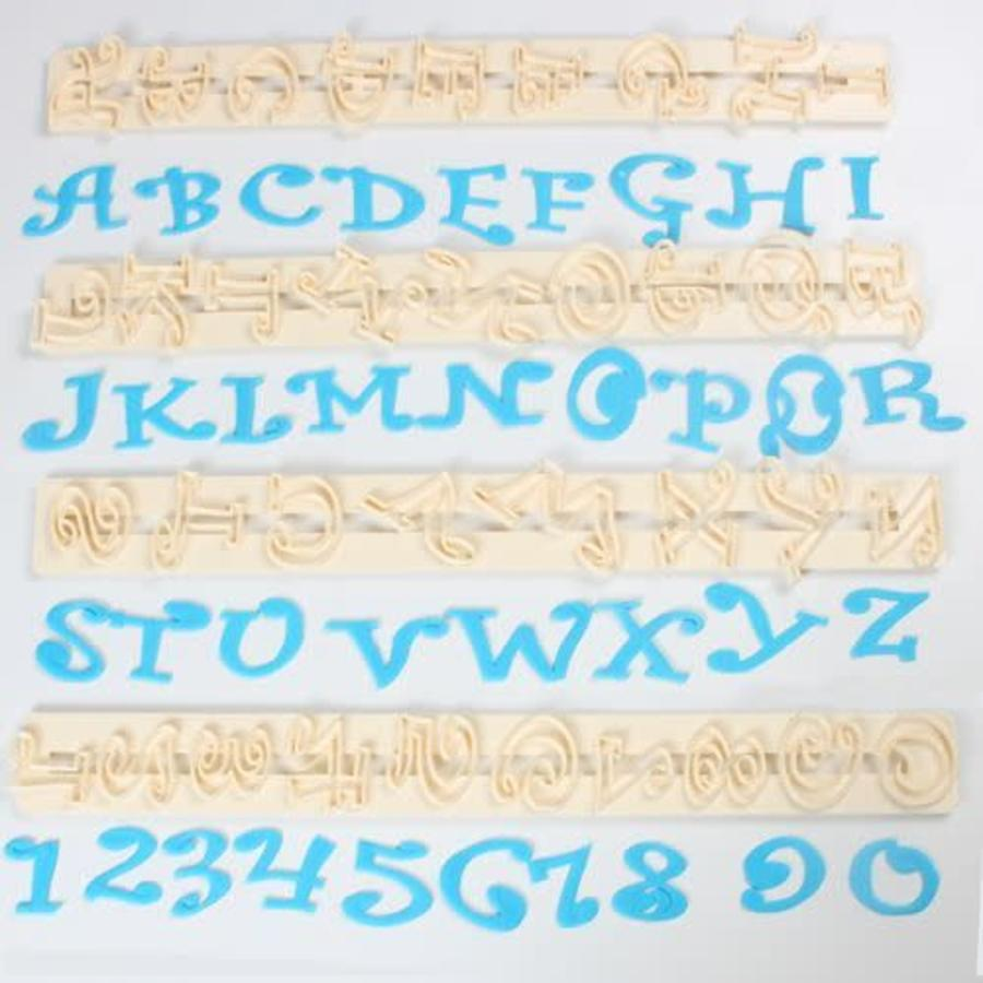 FMM Chunky Funky Alphabet & Numbers Set Tappits-1