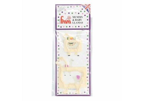 FMM Mummy & Baby Llama Cutter Set/2