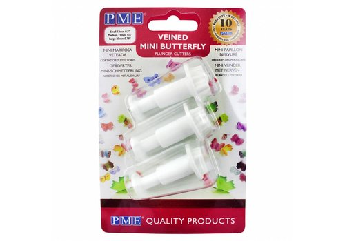 Butterfly Plunger Cutter Mini set/3