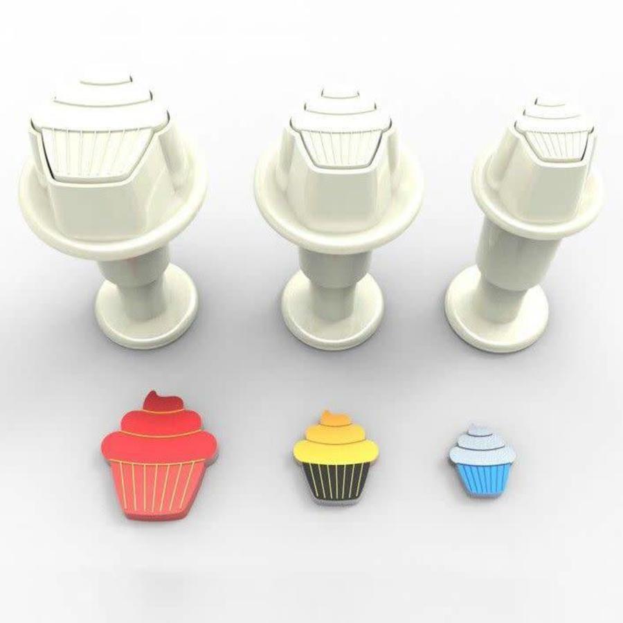 Dekofee Mini Plungers Cupcake set/3-1