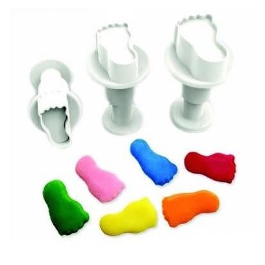 Dekofee Mini Plungers Feet set/3-1