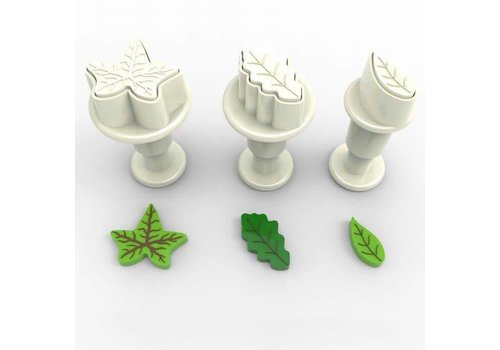 Mini Plungers Leaves set/3