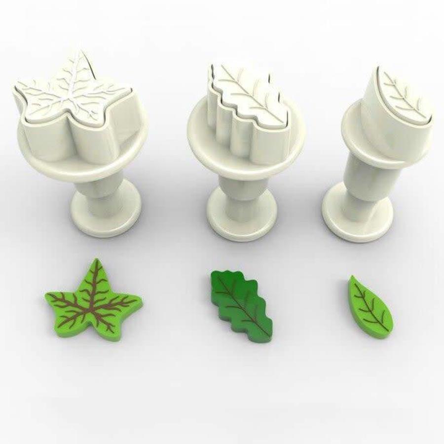 Dekofee Mini Plungers Leaves set/3-1