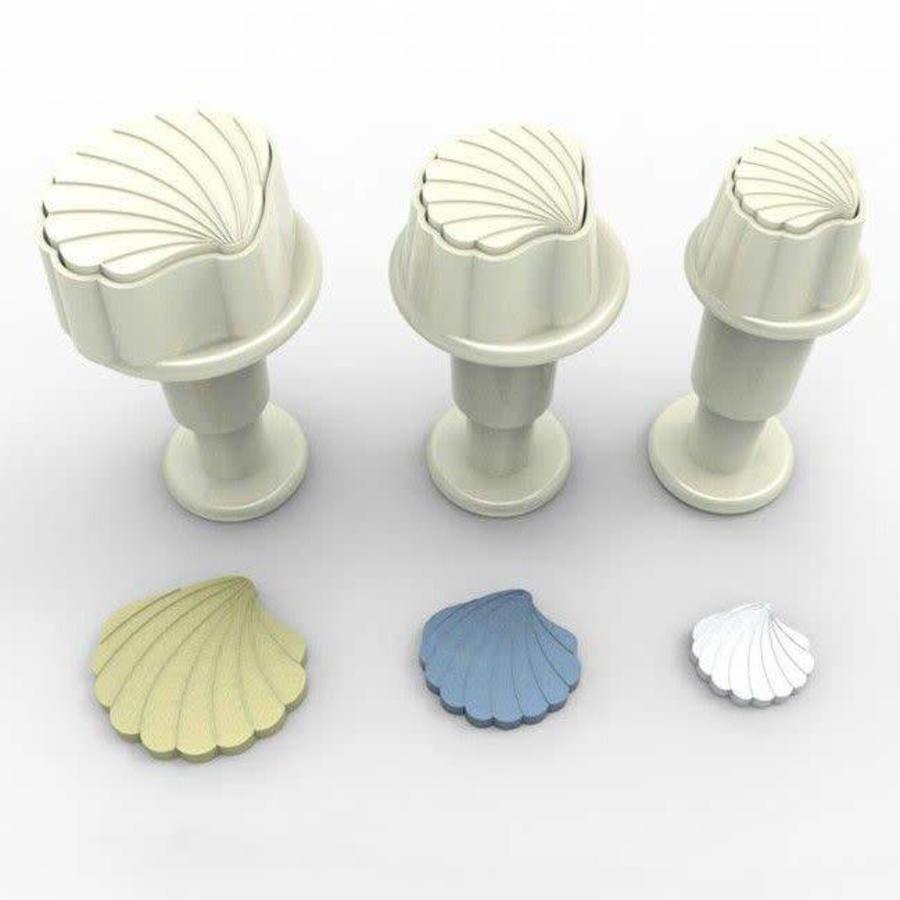 Dekofee Mini Plungers Shells set/3-1