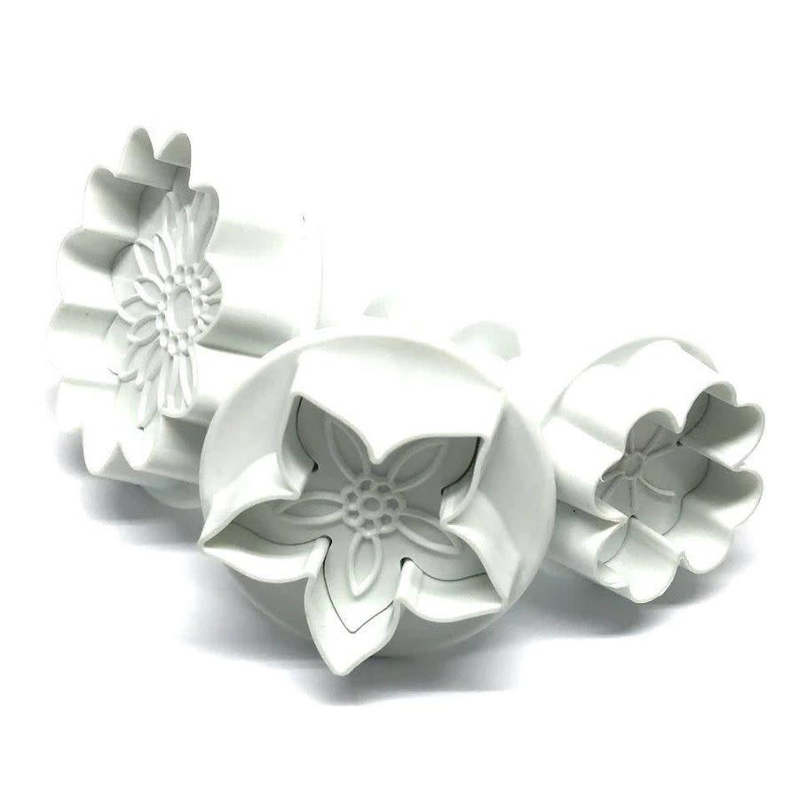 Dekofee Plungers Flowers Mix set/3-1
