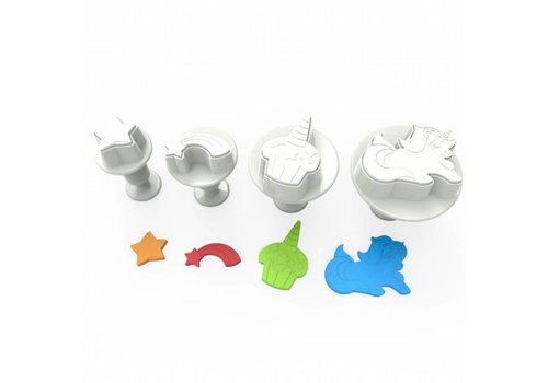 Plungers Unicorn set/4