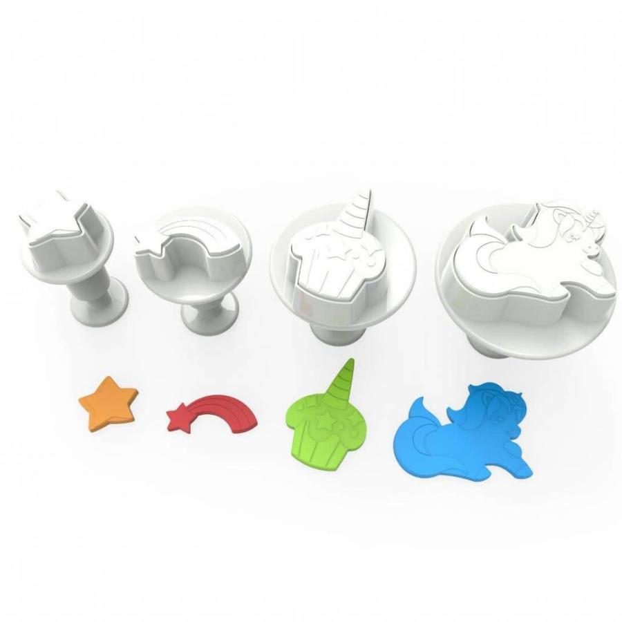 Dekofee Plungers Unicorn set/4-1