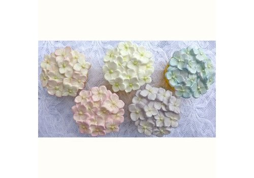 Cupcake Top Mould - Hydrangea