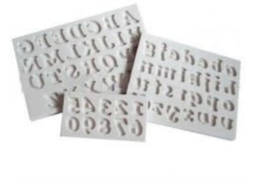 cookie font set 18mm AM0118