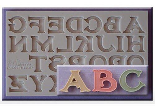 vintage font AM0246