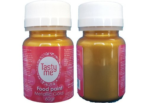 Food Paint Metallic Gold 60 gram