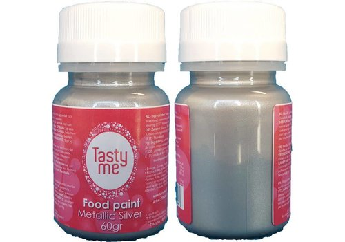 Food Paint Metallic silver 60 gram