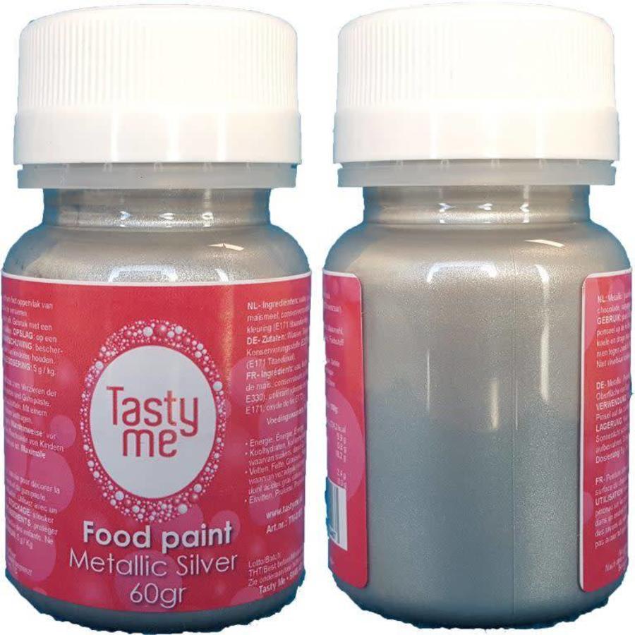 Food Paint Metallic silver 60 gram-1