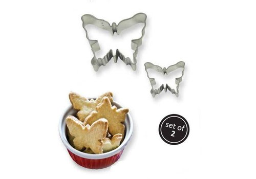 PME Cookie Cutter Butterfly set/2