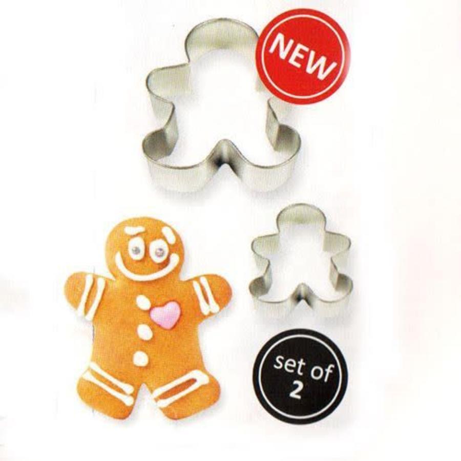 PME Cookie Cutter Gingerbread Man set/2-1