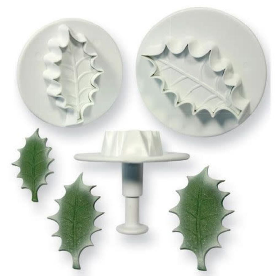 PME Holly leaf plunger cutter set/3 Large size-1
