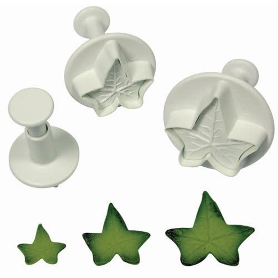 PME Ivy Leaf Plunger Cutter set/3 LARGE-1