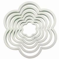 PME Plastic Cutter Flower Set/6