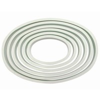 PME Plastic Cutter Oval Set/6