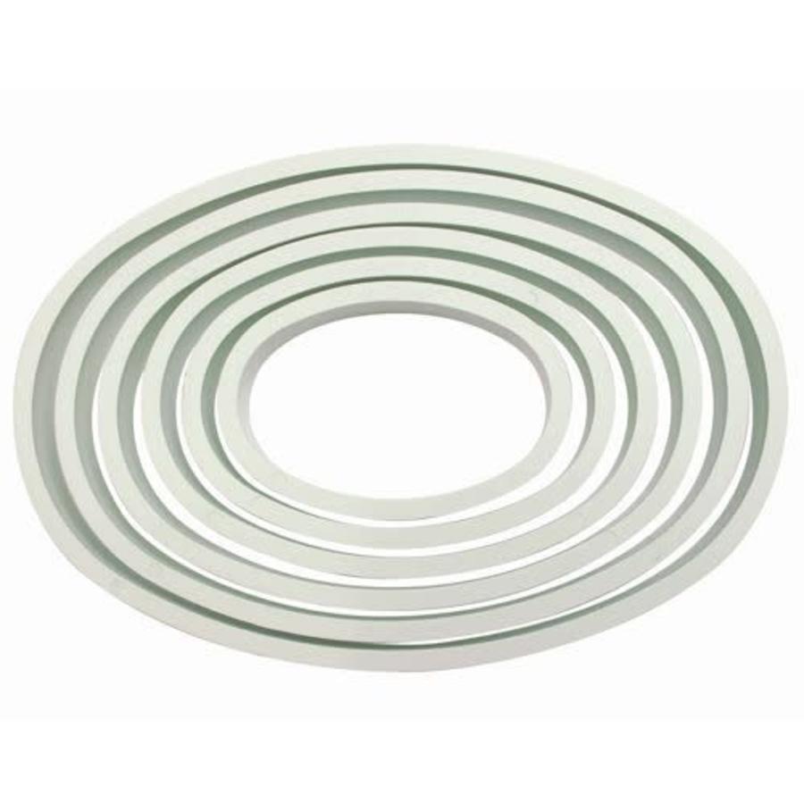 PME Plastic Cutter Oval Set/6-1