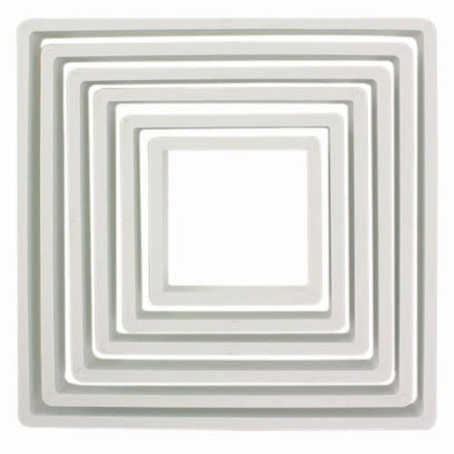 PME Plastic Cutter Square Set/6-1