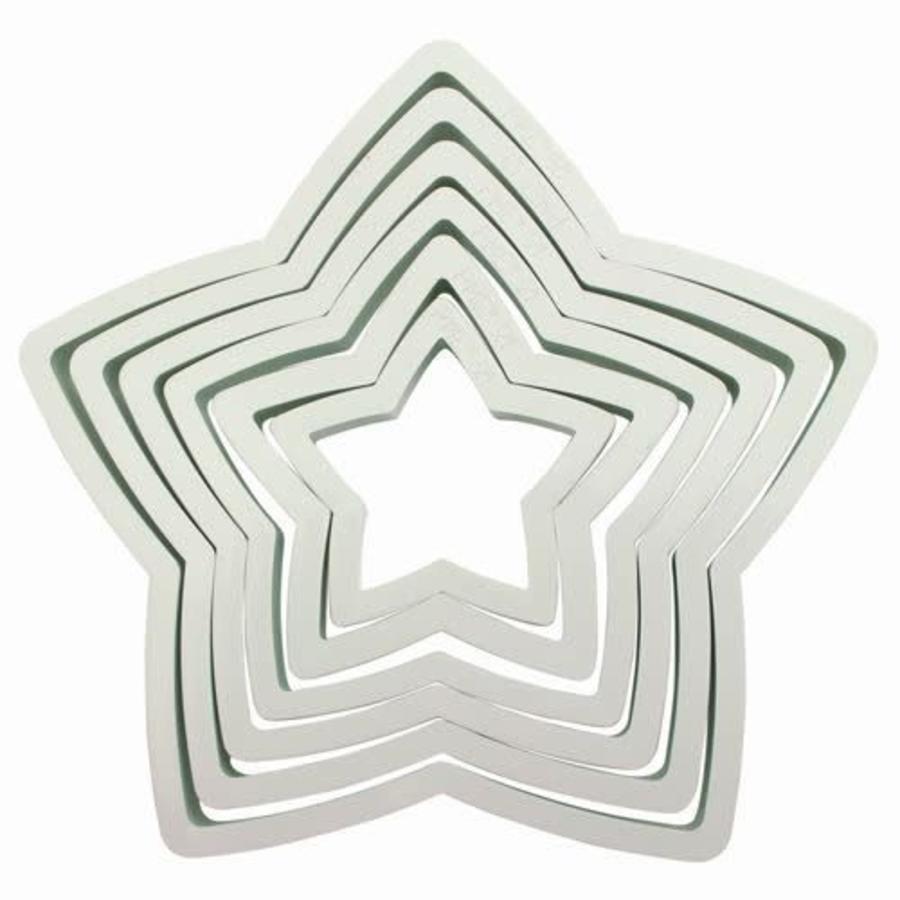 PME Plastic Cutter Star Set/6-1