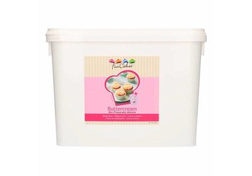 FunCakes Mix voor Botercrème 4,5 kg -Emmer-