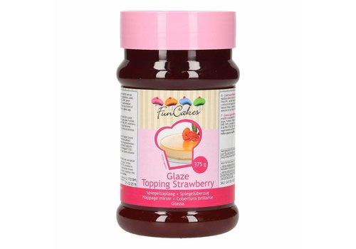FunCakes Glaze Topping Strawberry -375g -