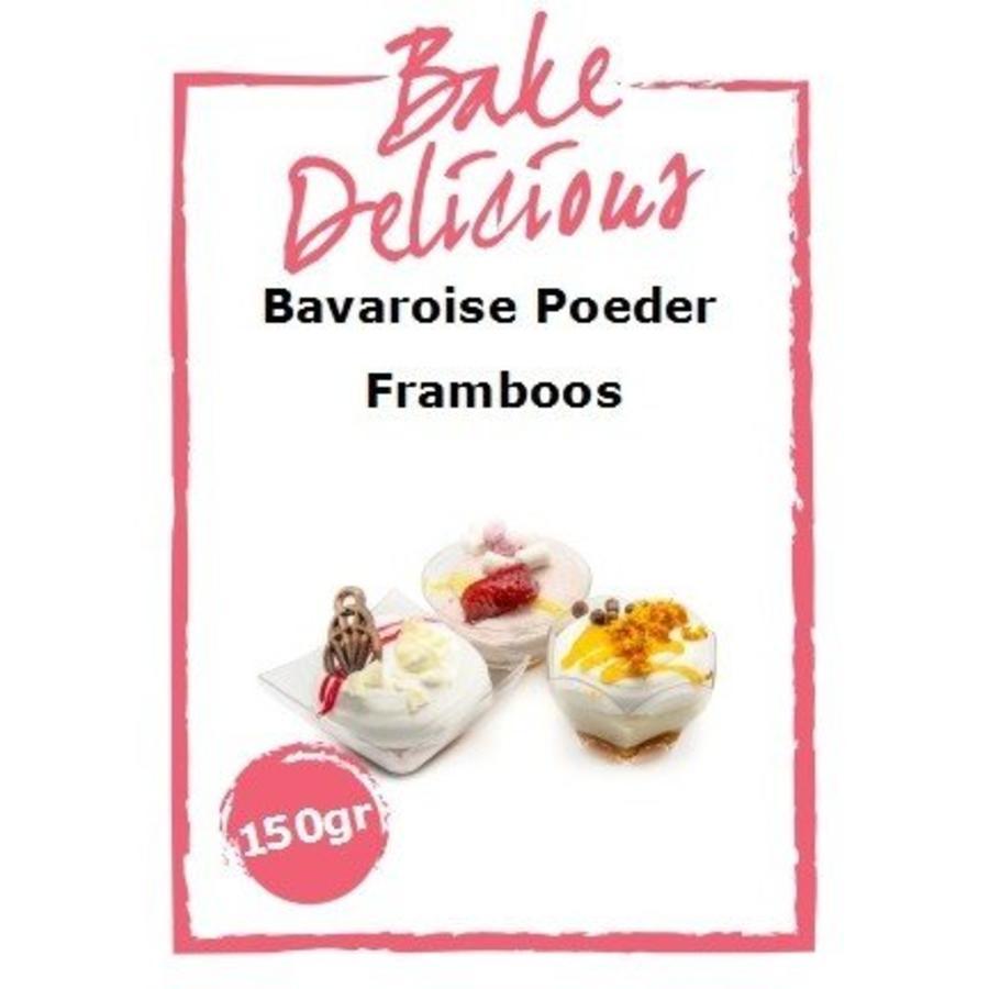 bake delicious bavarois framboos-1