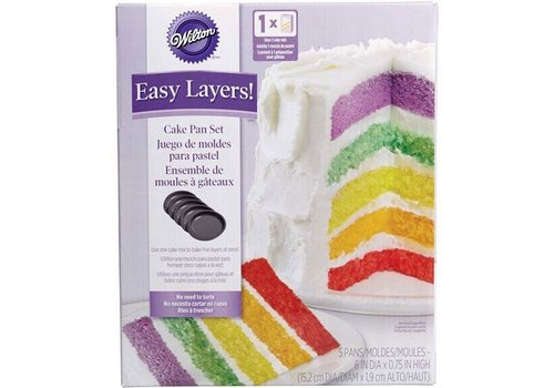 Cake Pan Easy Layers -15cm- Set/5